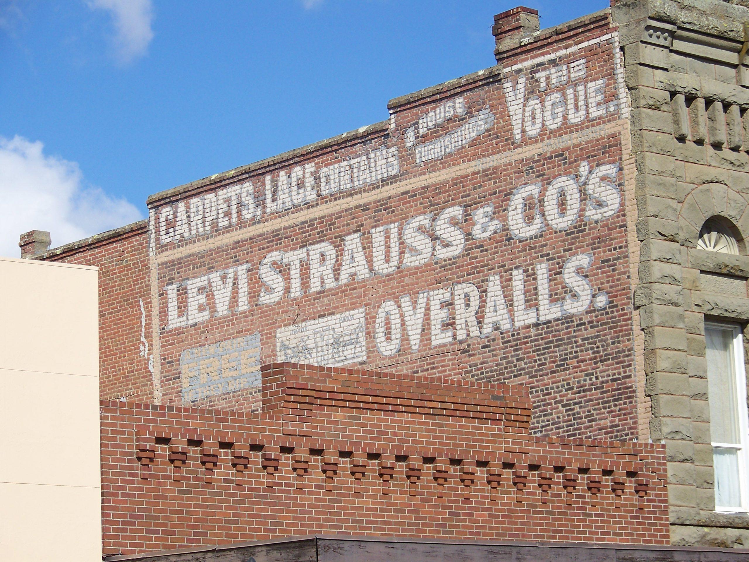Hemp, Levi's and The Clash?