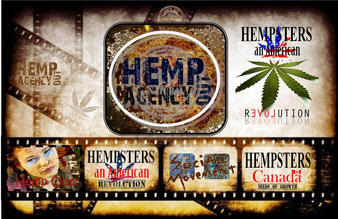 Press Release: Hemp Out Agency Signs With Upcoming Films Hempsters An American Revolution & Hempsters Canada Seeds of Growth!!