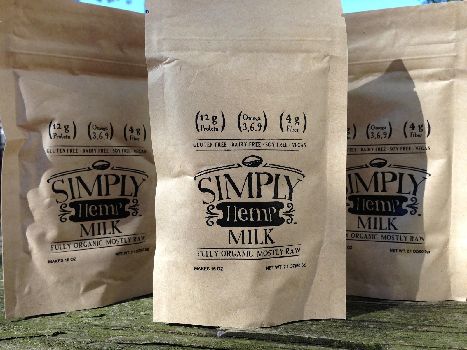 Simply Hemp Milk Powder Review