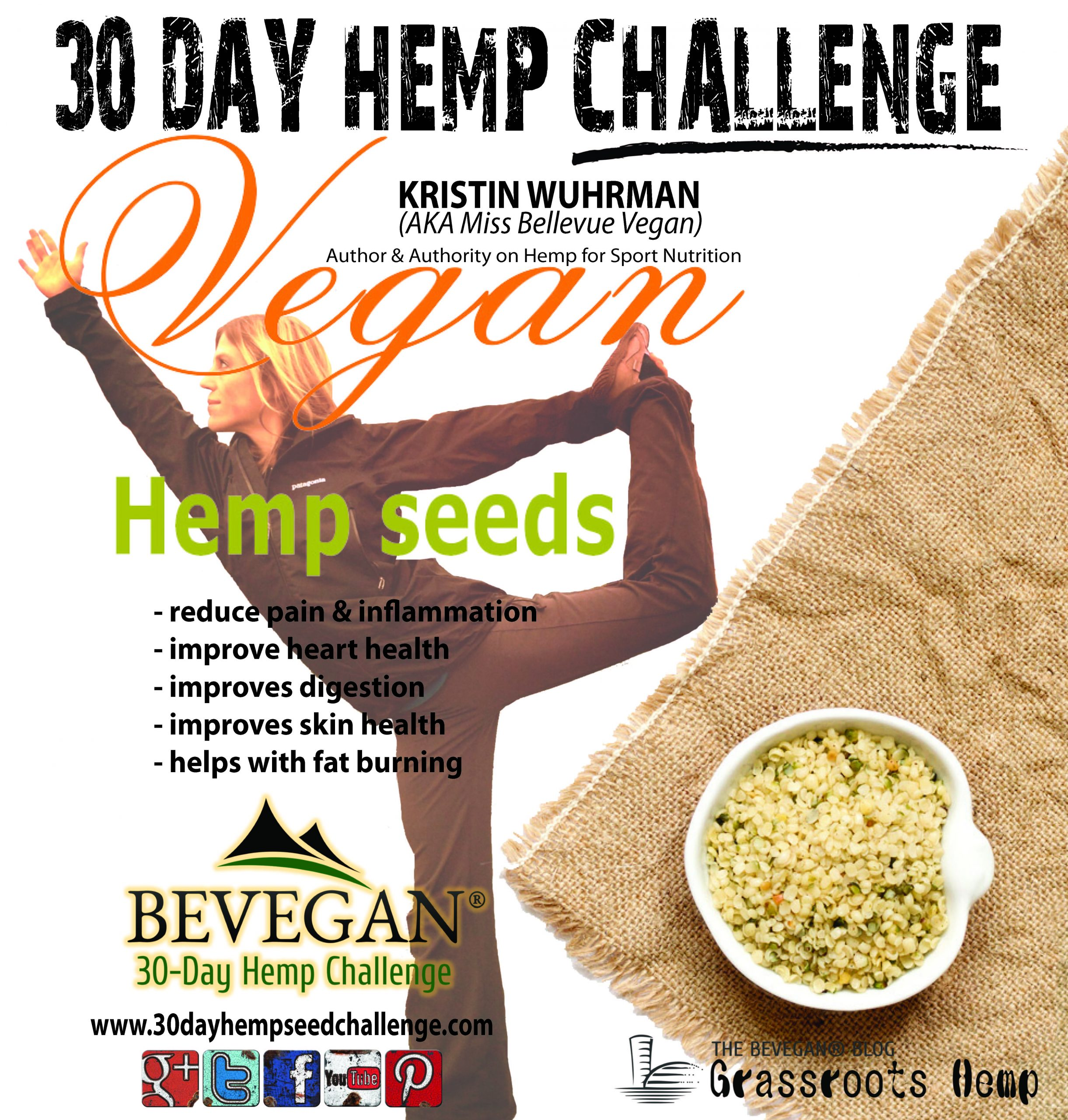 Hempuary Month in Support of Veganuary 2015 Join The Hemp 30 Day Challenge